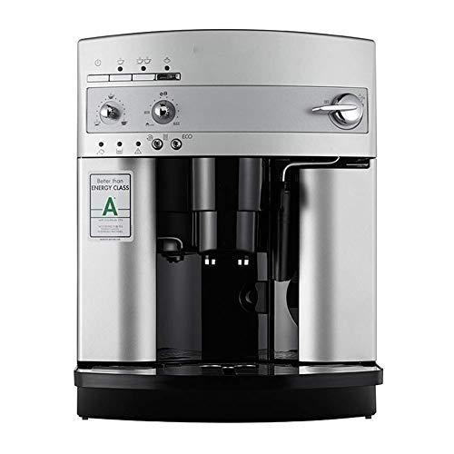 Qinmo Iced - Máquina de café, cafeteras domésticas, cafeteras de café, Office Home totalmente automáticas, máquina de café Capuchino System Manual