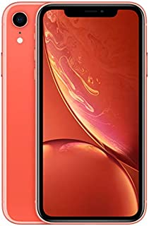 Apple Iphone XR With Face Time - 128 GB, 4G LTE, Coral, 3 GB Ram, Single Sim & E-Sim