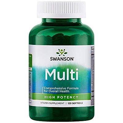 Swanson Multi High Potency 120 Sgels