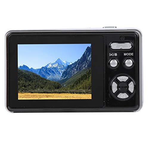 logozoee Wiederaufladbare USB-Kamera, Digitalkamera, 24-Megapixel-Kompaktkamera, 2,4-Zoll-LCD-Bildschirm für Anfänger