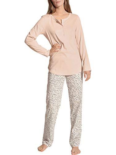 Calida Sweet Dreams Juego de Pijama, Lace Parfait Pink, M para Mujer