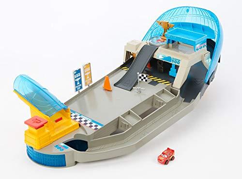 Cars - Pista Pinball Florida Mini Racers Pista da Corsa, Incluso 1 Mini Racer, Trasportabile, FPR05
