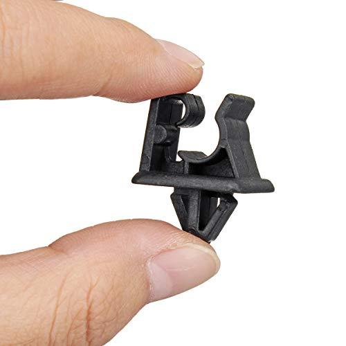Kit de serrage pour capot de voiture Noir pour Kia et Hyundai COD