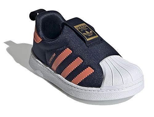adidas Jungen Superstar 360 I Zapatillas Azul, color Azul, talla 21 EU