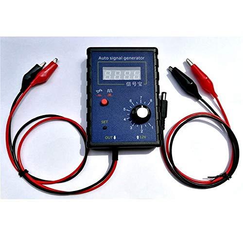 Pettneeds Funktionsgenerator Kraftfahrzeug Signal Simulator Generator Auto Hall-Sensor und Kurbelwellen-Positionssensor Signal Tester Messgerät 2 Hz bis 8 kHz (Farbe : Blau, Größe : Einheitsgröße)