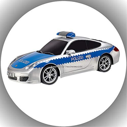 Premium Esspapier Tortenaufleger Polizei T6