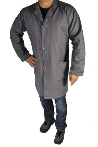 Unbekannt Arbeitsmantel und Berufsmantel Kittel Mantel in Grau, 50