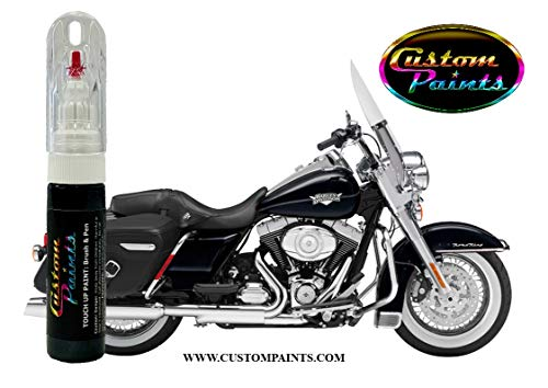 Specialist Paints Harley Davidson - Vivid Black - 20ml (0.68 oz) - Touch up Pen and Brush