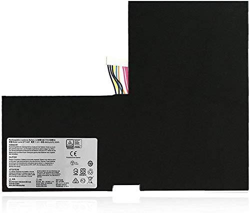 Backupower Batería de repuesto BTY-M6F MS-16H2 3ICP5/40/99-2 compatible con MSI GS60 2PC 2PE 2PL 2QC 2QD 2QE 6QE 6QC 2PC-010CN 2QE-215CN 6QC-257XCN PX60 PX60-6QD002US MS-1002US Serie 6H2.