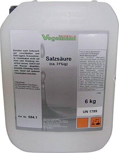Salzsäure 6 kg, 30-32%
