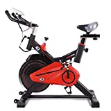 GOPLUS Indoor Cycling Bike Stationary, Quite Belt with 30lbs Flywheel, Heart Pulse Sensors and LCD Display, Professional Exercise Bike for Home and Gym Use (30lbs Flywheel)