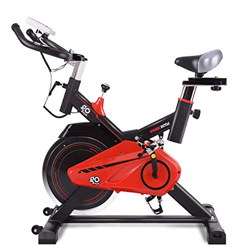GOPLUS Indoor Cycling Bike Stationary, Quite Belt with 30lbs Flywheel, Heart Pulse Sensors and LCD Display, Professional Exercise Bike for Home and Gym Use (30lbs Flywheel) Bikes Exercise