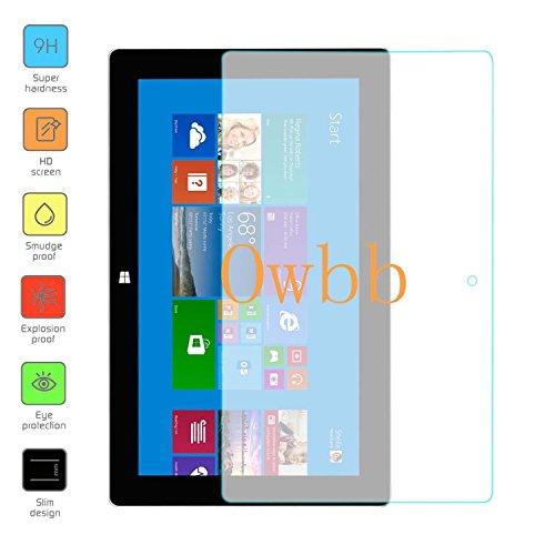 Owbb Vetro Temperato Pellicola Protettiva Protezione Per Microsoft Surface Pro 2 (10.6inch) Tablet Trasparenza ad alta definizione