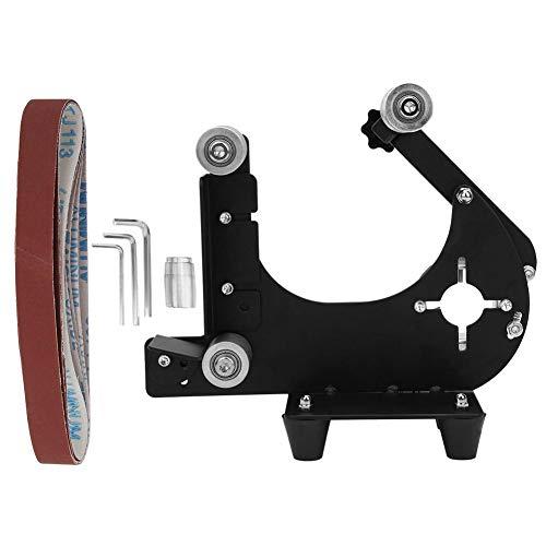 Bandschuurmachine opzetstuk metaal houtschuurband adapter voor spindel M10 hoekslijper voor slijpen en repareren