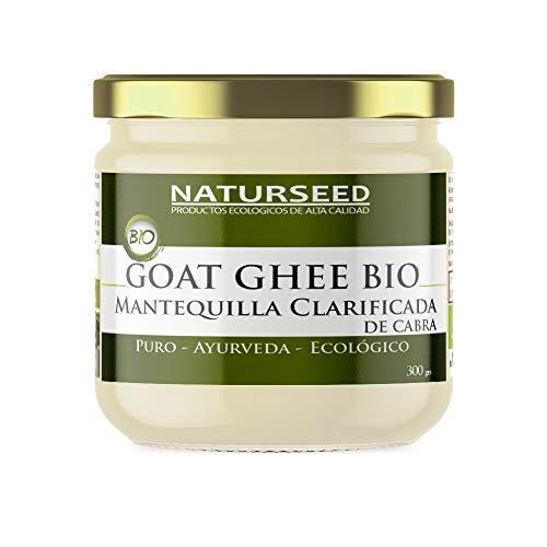 Naturseed Ghee Organico Capra - Burro chiarificato Ayurveda - senza lattosio - solo pascoli biologici - 250º (300gr CAPRA)