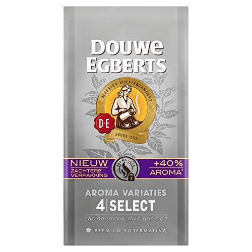 Douwe Egberts Filterkoffie Aroma Variaties Select Premium (3 Kilogram, Intensiteit 04/09, Light Roast Koffie), 12 x 250…