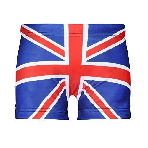 Union Jack Wear Jungen Badehose Union Jack Gr. Alter 8-10, Rot / Weiß / Blau
