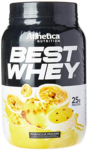 Best Whey Mousse de Maracujá, Athletica Nutrition, 900g