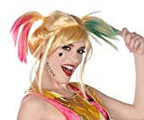 Rubie's Women's DC Comics Birds of Prey Harley Quinn Costume Make-Up Kit, As Shown, One Size