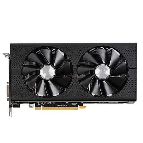 SYFANG Fit for Sapphire RX 480 4GB Tarjetas gráficas GPU AMD RX480 4G Tarjetas de Video Computadora PC Juego HDMI PCI-E X16 Tarjeta de Video Tarjetas gráficas para Juegos