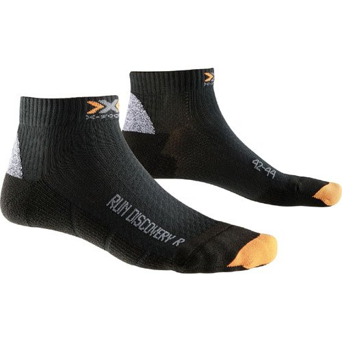 X-Socks Funktionssocken Run Discovery New - Calcetines, Color Negro, Talla 39/41