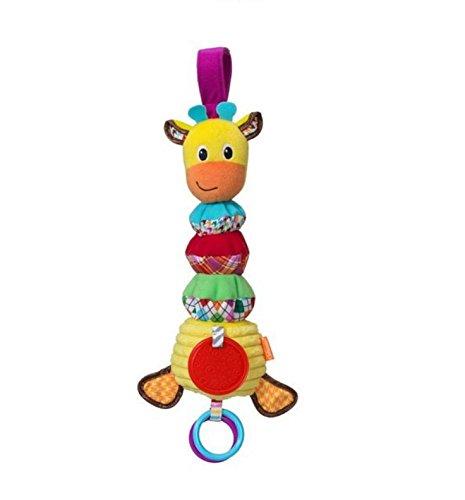 Abenily Mögliche Spielsachen Nettes Auto-Baby-Musik-Drehbank-hängendes Bett-Pram Toys (Kuh)