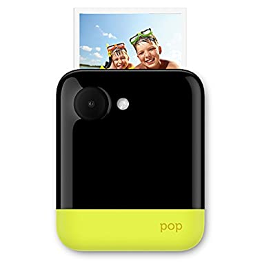 Polaroid POP 3x4 Instant Print Digital Camera with ZINK Zero Ink Printing Technology - Yellow