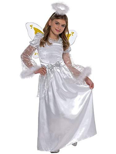amscan 998198 Conjunto de disfraz de ángel para niños, 6-8 años