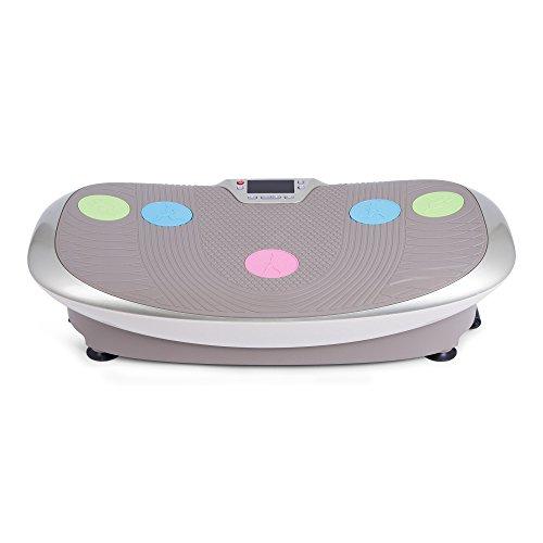 GLOBAL RELAX Zen Shaper® Schwingen Fitness Vibrationsplatte (Modell 2020)–3 Automodi und 10 manuellen um Gewicht abzunehmen –3 Funktionen (Gehen–Joggen–Laufen) - 2 Jahre GARANTIE