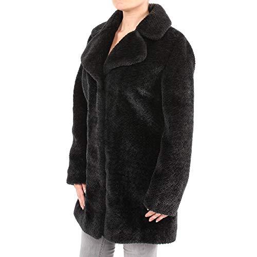 Circle of Trust Mantel Chrissi oversized Coat winterjas kunstbontjas jas zwart zwart zwart nero abrig desigual Coat kunstbont mantel