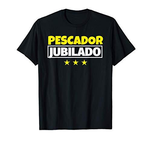Pescador Jubilado Regalo Camiseta