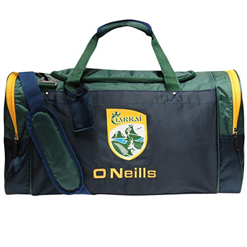 O'Neills Unisex Kerry Denver Holdall Bag Two Carry Handles Navy/Bottle/Amb One Size