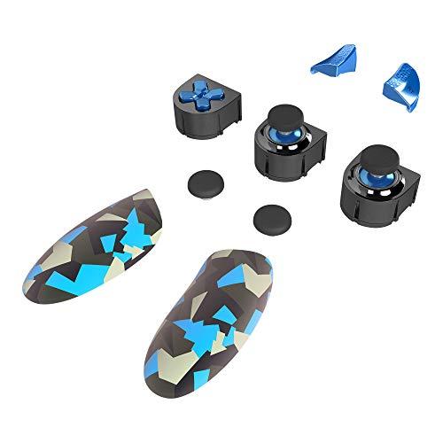 Thrustmaster ESWAP X BLUE COLOR PACK, Packung mit 7 Modulen in Blau-Camouflage - Kompatibel mit ESWAP X PRO CONTROLLER (Xbox Series X|S und PC)