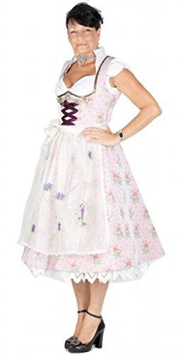 Lola Paltinger 11073 70er Dirndl Rose Size 38
