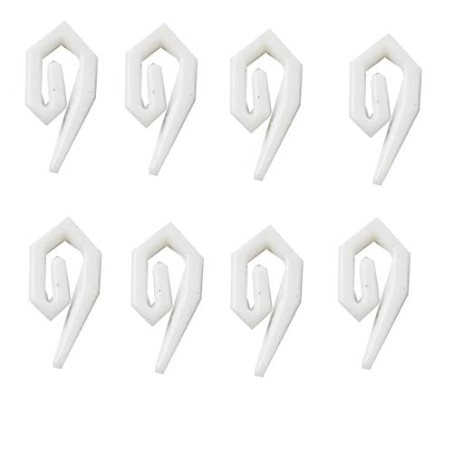 Bulk Hardware Nylon Curtain Hooks 500 Hooks