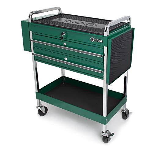 SATA Two-Drawer Tool Cart - ST95118SC