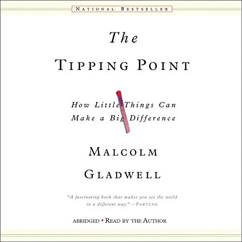 The Tipping Point Audiobook By Malcolm Gladwell cover art