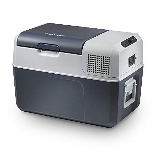 Mobicool FR40, elektrische Kompressor-Kühlbox mit 38 Liter Fassungsvermögen, 12/24 V und 230 V für Auto, Lkw, Boot, Reisemobil und Steckdose