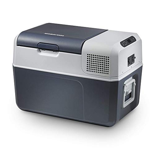 Mobicool FR40, elektrische Kompressor-Kühlbox mit 38 Liter Fassungsvermögen, 12/24 V und 230 V für Auto, Lkw, Boot und Steckdose