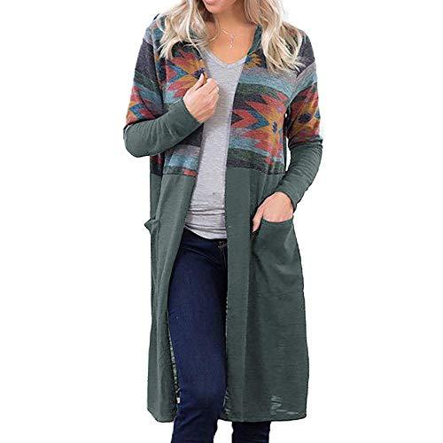 FRAUIT mode korte luipaard dames mantel lange mouwen rits gebreide jas met capuchon