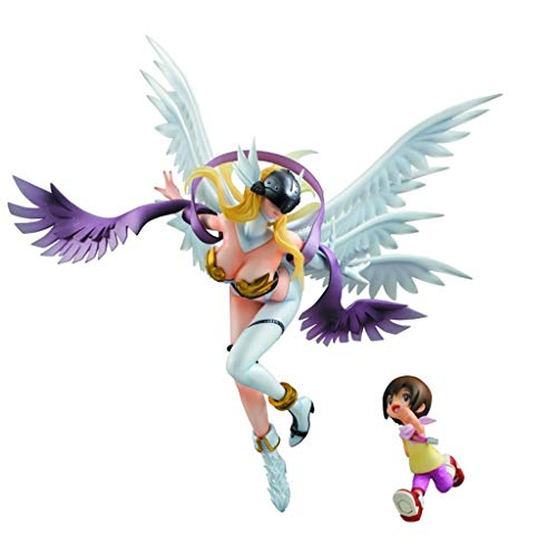 Xiaoping Digimon Adventure: Angewomon & Yagami Hikari G.E.M.PVC Figure - Hohe 8,66 Inches