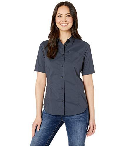 FJÄLLRÄVEN High Coast - T-Shirt Manches Courtes Femme - Bleu Modèle XL 2019 Tshirt Manches Courtes