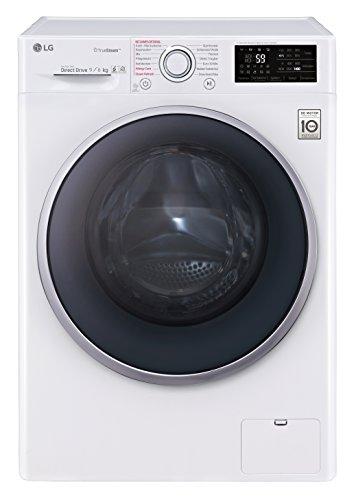 LG Electronics F 14WD 96EH1 Waschtrockner / A / 1224 kWh/Jahr / 1400 UpM / 9 kg / 11800 L / Aqua-Lock Vollwasserschutz