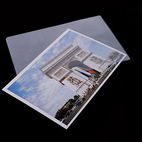 top-sell 10010,2x 15,2cm Laminat Film Thermo Laminierfolien glänzend Schützen Foto Papier