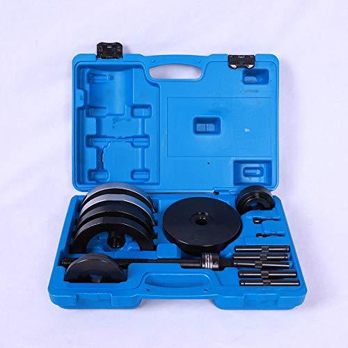 SENDERPICK Radlager Werkzeug-Set 85 mm Einbau, Profi Werkzeugsatz für Radnabenantriebslager Ausbau 16 Stück mit blauem Gehäuse