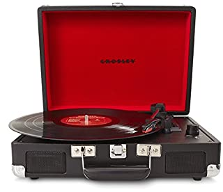 Crosley Radio Cruiser Portable Turntable, Black (B008F8DGJQ) | Amazon price tracker / tracking, Amazon price history charts, Amazon price watches, Amazon price drop alerts