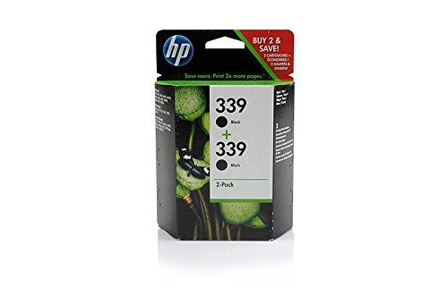 Original HP C9504EE / Nr 339 Tinte Black (Doppel Pack) für HP PSC 2600 Series