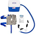 Polar Active Ice 3.0 Cold Therapy Ice Machine System with Programmable Timer, Knee and Joint Compression Pad, Lightweight 9 Quart Cooler, Quiet Pump, Strong Cyrotherapy Pain Relief Treatment