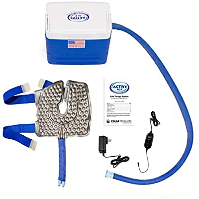 Polar Products Active Ice® 3.0 Knee & Joint Pad Cold Therapy System with Programmable Digital Timer, 9 Quart Cooling Reservoir
