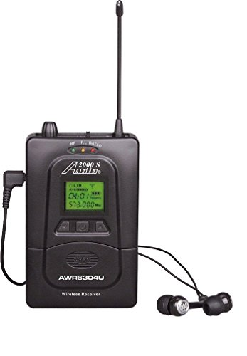 Audio2000'S AWR6305U5 Wireless Receiver for in-Ear Monitoring System